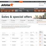 Jetstar Hot Fares Sydney to Melbourne (Avalon) from $35