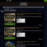 The Lord of The Rings Online Quad Pack $19.99 (Game Expansions)
