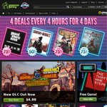 Green Man Gaming 4 Deals Every 4 Hours for 4 Days