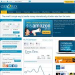 OzForex First Transfer over $2000 FEE FREE (Usually $15) + Bonus $15 Amazon Gift Card