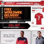 Free Delivery from the Official Liverpool FC Online Store - Other Discounts