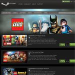 [Steam] LEGO (Mid Week Madness) Marvel Super Heros US$5