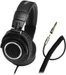 Audio Technica ATH-M50 Coiled Cable $99 + $22 P&H. @ Massdrop