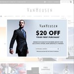 40% OFF SELECTED SHIRTS- at VanHeusen.com.au