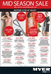 Myer Mid Season Sale Inc 30% off Original Price of Dysons @ Myers (DC35 for $299 + More)