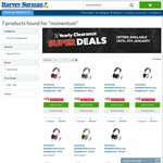 Sennheiser Momentum (on Ear Version) $98 @ Harvey Norman