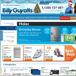 Billy Guyatts Online Store 5% off Code