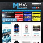 Megaceuticals Weekend Special, Free Shipping on All Orders over $99 + 5% off