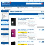 [LIMITED STOCK] 2015 Calendar/Diaries (Inc. Moleskin) - Various Types - $1 - Officeworks