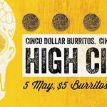 $5 Burritos, $5 Bowls AND $5 Coronas* 5th May @ ALL Guzman y Gomez (GYG)