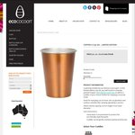 4 Pack Copper Coloured ecococoon Cups & Cuddler $10 + $10 Flat Rate Shipping (Free over $120)