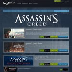 (PC) Assassin's Creed Titles up to 75% off eg Black Flag $12.47 US