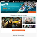 Foxtel Play 1 Month FREE Trial