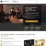 Macquarie Platinum Visa: 40,000 Hilton Hhonors Points + $99 First Year Annual Fee (Reduced from $295)