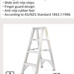 [VIC Bentleigh] ALDI 1.2m Step Ladder Was $99.99 Now $49.99