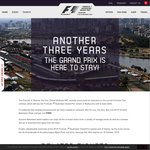 Buy One General Admission Ticket Get One Free - 2016 Australian F1 Grand Prix
