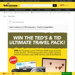 Win a Panasonic TZ70, $500 Travel Voucher, Travel Insurance, Lowepro Case, 8GB SD Card and Gorillapod Tripod from Ted's Cameras