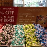 50% off Lindt Pick & Mix Gift Boxes (Small Box $14.50, Large Box $24.50) @ Lindt Cafe