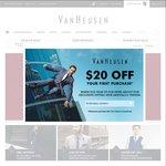 Van Heusen 40% off Everything