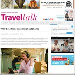 Win a Pair of Bose QuietComfort 25 Acoustic Noise Cancelling Headphones from Travel Talk Mag