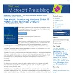 Free Microsoft Press eBook - Introducing Windows 10 for IT Professionals