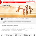 Vodafone BYO $50/Month for 12 Months, 12GB Data, Unlimited Text/Calls, Unlimited International