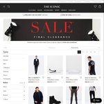 The Iconic EXTRA 10% off The CLEARANCE SALE Items & Iconic Exclusives ($79 Minimum Spend)