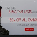 Street Zero 50% off All Canvas Bags (Exp Sun 28/8), 25% off Father's Day Gifts and Free Delivery All Orders