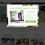 Free Sample of Becoming Healthy Meal Replacement Shake