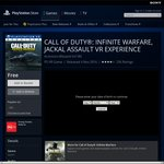 FREE Sony  PlayStation VR Game: Call of Duty®: Infinite Warfare, Jackal Assault VR Experience