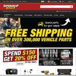10% off $50 Spend, 15% off $100, 20% off $150 @ Supercheap Auto