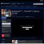 Battlefield 1+ Titanfall 2 Bundle Deluxe Edition AU PSN PS4 for $69.95 (Was $195.45)