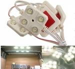 10x 4-LED Car Interior Light Kit for LWB Van Lorries Sprinter Ducato Transit VW AU $12.22 (US $8.99) Delivered @ Tmart