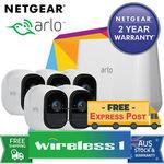 NetGear VMS4530 Arlo Pro HD with 5 HD Cameras (VMS4330 + VMC4030x2) Bundle $1316.65 Delivered @ Wireless1 eBay