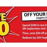 Spend $200 @ Coles to Save $20 off Your Next Shop - Flybuys Members