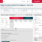 Melbourne/Sydney to London Return $718 AUD, Perth to London $633 Return Via Scoot/Norwegian Air (Oct 2017- Jan 2018)