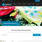 35% off Australian Web Hosting (from $1.91 mth), Free Bandanna + $5 Donation to CanTeen's National Bandanna Day @ DreamIT Host