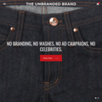 The Unbranded Brand Jeans from USD $82 (~AUD $106) -  Free Worldwide Shipping