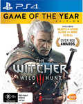 Witcher 3 Game of The Year $35 Plus Shipping Big W PS4