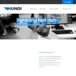 Unlimited NBN Lightning100 (100/40) $74.95 Mth (Was $94.95 Mth) + $5 off Per Mth Wth Modem, No Contracts, $0 Setup @ Mungi