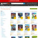 $5-$7 LEGO Series PlayStation Vita Games + Delivery @ MightyApe