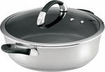 Circulon Symmetry Stainless Steel 28cm/4.5l Sauteuse - $59.95 + FREE Shipping (Was $169.95/RRP $269.95) @ Cookware Brands