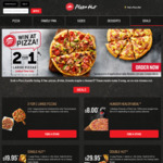 2 for 1 Large Pizza @ Pizza Hut | 30% off Large Pizza @ Pizza Hut