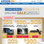 Good Guys Concierge Offer; 50% off Logitech, Logitech Harmony Elite $282.50 (RRP $549.00) @ The Good Guys