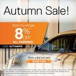 (QLD) 8% off All Parking @ Brisbane Airport