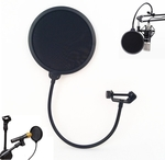 Studio Microphone Windscreen Pop Filter Mask Shield US $5.99 (AU $8.00) Delivered @ Tmart.com