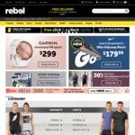 Minimum 20% off Sitewide @ rebel Online