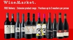 WineMarket $5 for $30 Credit - New & Existing Customers (Min Spend $99) + Free Shipping via Groupon