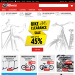 $20 Gift Voucher When You Spend Over $99 @ 99 Bikes