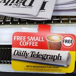 Coles Express: Free Coffee (80c Value) with The Daily/Sunday Telegraph, The Australian/Weekend Australian Newspaper Purchase